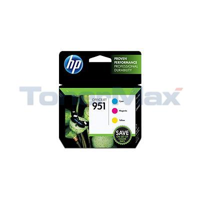 HP OFFICEJET NO 951 INK COLOR COMBO PACK